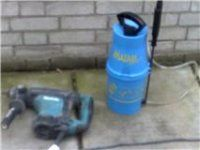 Chemical damp proof course injection DPC